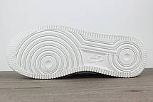 Nike Air Force 1 Mid White, фото 3