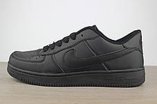 Nike Air Force 1 Black, фото 2