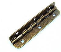 Петля рояльная бронза 65х15 мм, фото 1