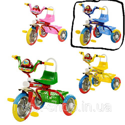 Детский велосипед Bambi B 2-1 / 6010B (Голубой)