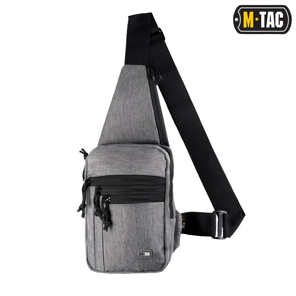 M-Tac сумка-кобура наплечная Melange Grey