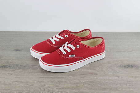 Vans Authentic Sneaker Red Classic, фото 2