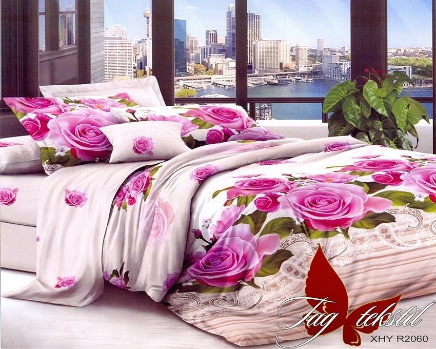 Комплект постельного белья XHY2060 двуспальный (TAG polycotton (2-sp)-438)
