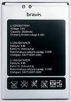 Аккумуляторная батарея Original для телефона Bravis A551 Atlas,  2500mAh