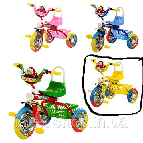 Детский велосипед Bambi B 2-1 / 6010Y (жолтый)