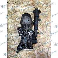 Корпус масляного фильтра c охладителем (теплообменник, радиатор) для Opel Combo 2001 - 2011