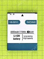 Аккумулятор NB-5013 Nomi i5013 EVO M2 Pro 2050mAh Оригинал