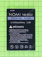 Аккумулятор NB-5032 Nomi i5032 EVO X2 2500mAh Оригинал