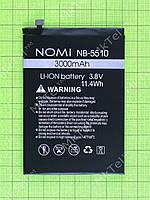 Аккумулятор NB-5510 Nomi i5510 Space M 3000mAh Оригинал
