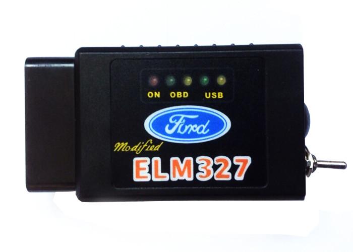 ELM327 Bluetooth c переключателем MS/HS CAN для FORD/MAZDA