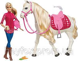 Набор Barbie наездница и танцующая лошадка (FRV36)