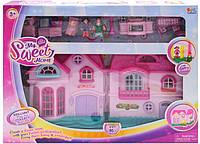 Кукольный домик с фигурками 16526D