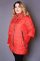 Куртка женская демисезонная большого размера 365, женская верхняя одежда больших размеров, ирмана