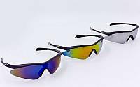 Велоочки солнцезащитные Oakley 146 (спортивные очки): 3 цвета