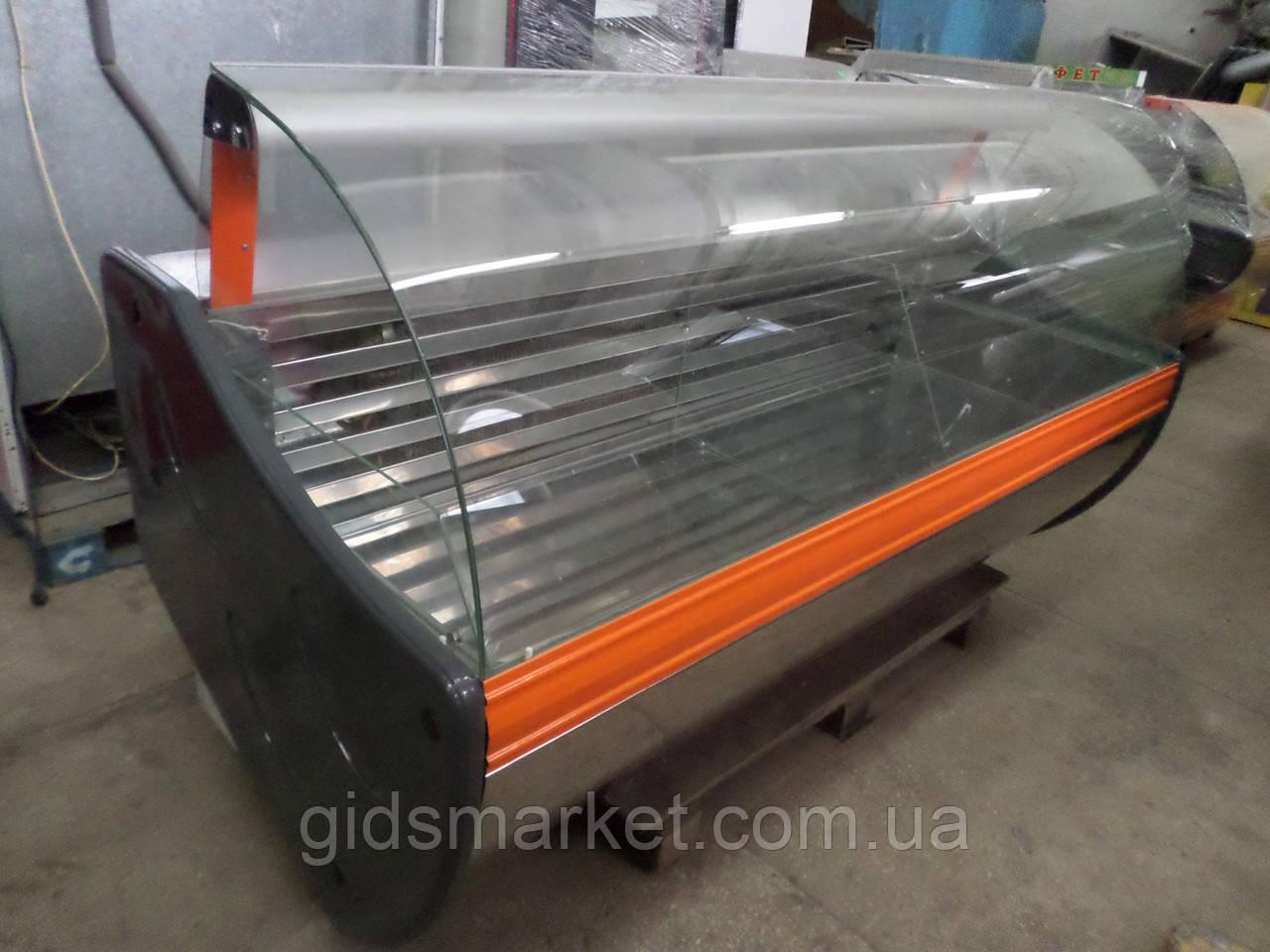 Витрина морозильная Технохолод 2 м., витрина универсальная бу