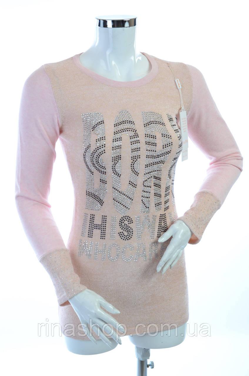 Женская кофта с вырезом TN202