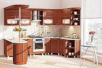 Комфорт Сопрано кухня КХ-282 орех 3.0 х 1.7 м