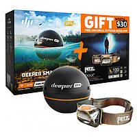 Эхолот Deeper Pro+ WiFi+GPS+Petzl Pit