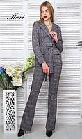 Женский костюм: пиджак и брюки, в расцветках