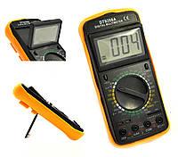 Мультиметр тестер цифровой DT9208A с термопарой