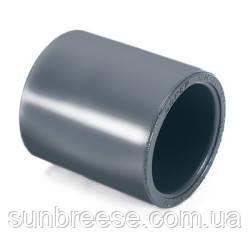 Муфта соединительная d.280 ммSO10 ПВХ с клеевым соединением (большой диаметр)