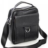 Мужская кожаная сумка   2045 Black.Купить сумки оптом и в розницу дёшево в Украине