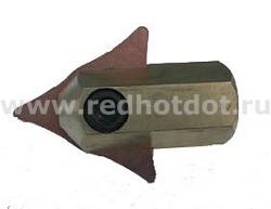 Зажим молотка для треугольного электрода RedHotDot