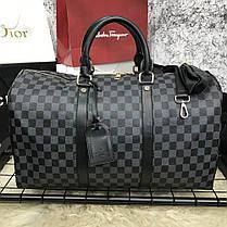 Softsided Luggage Louis Vuitton Keepall Damier Graphite, фото 2