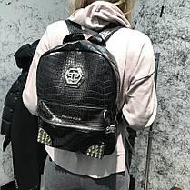Backpack Philipp Plein Riot Black, фото 2