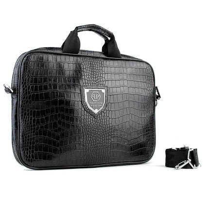 Bussines Bag Philipp Plein Sir 13 Black, фото 2