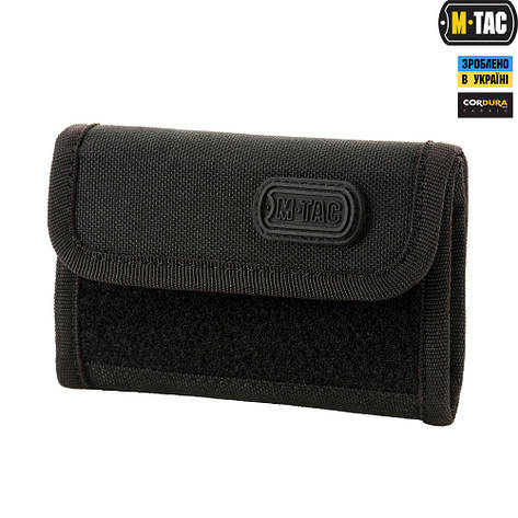 M-Tac кошелек с липучкой Elite Black, фото 2