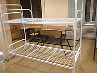 Кровать  двухъярусная для общежития, хостела