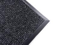 Ковер на резиновом основании 820х405 мм черный
