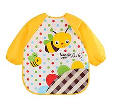 Слюнявчик с рукавами Пчёлки (02400)