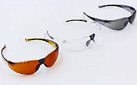 Велоочки солнцезащитные 818 (спортивные очки): 3 цвета
