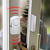 Мини-сигнализация на окна/двери магнитная автономная (без проводов)-4шт/комплект