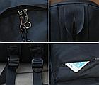 """Рюкзак чёрный молодёжный """" Месяц """", фото 4"""