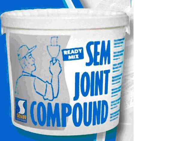 Шпаклівка полімерна SEMIN SEM JOINT COMPOUND 25кг