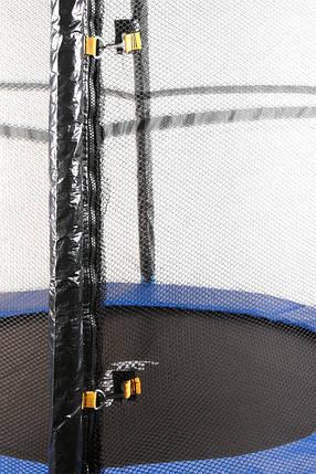 Батут 140 см с сеткой на пружинах, фото 2