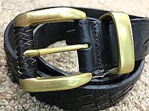 Bottega Veneta Nero Intrecciato Belt, фото 2