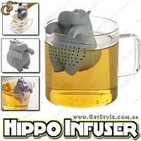 """Заварник для чая Бегемотик - """"Hippo Infuser"""", фото 1"""