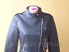 Куртка косуха женская кожзам Holdluck! модная s-2xl! в наличии! новая!, фото 2