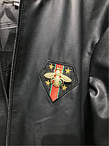 Jackets Gucci Bee with Web Black, фото 2