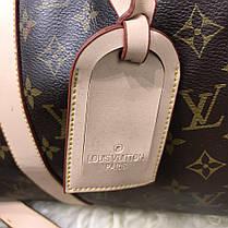 Softsided Luggage Louis Vuitton Keepall 55 Monogram, фото 3