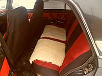Автомобильная накидка для сидений, овчина.