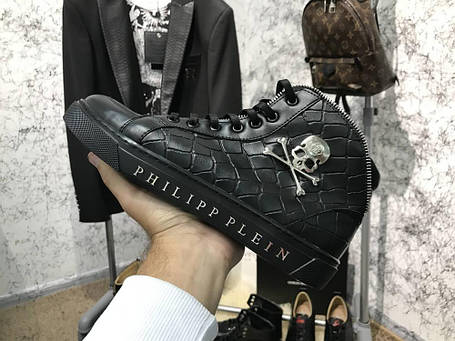 Philipp Plein High Top Cool Man Black, фото 2