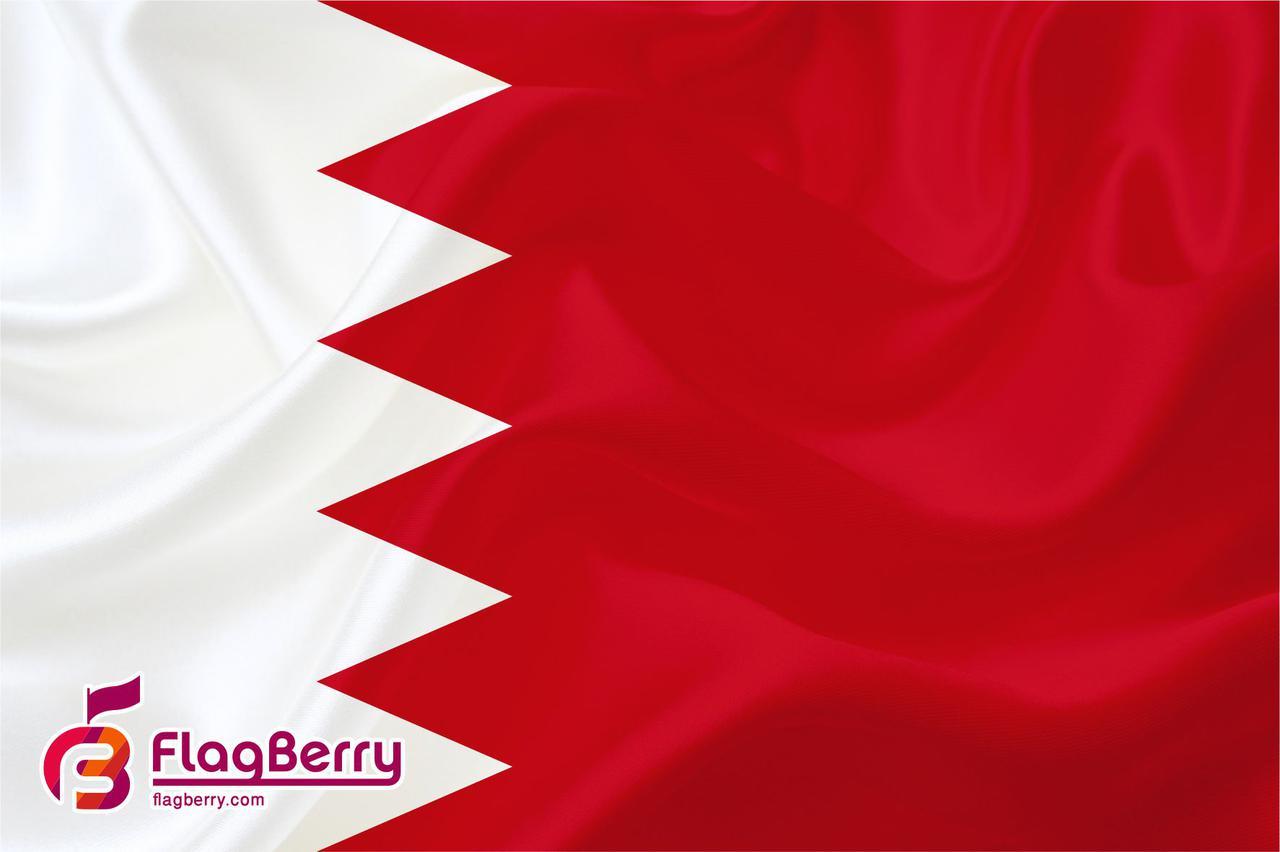 Флажок Бахрейна 13,5*25 см., плотный атлас