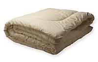 Шерстяное двуспальное одеяло - ткань тик