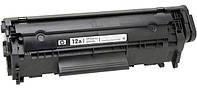 Картридж оригинальный HP 12A (Q2612A) для LJ 1010 / 1018 / 1020 / 1022 / 3015 / 3050 / M1005 восстановленный