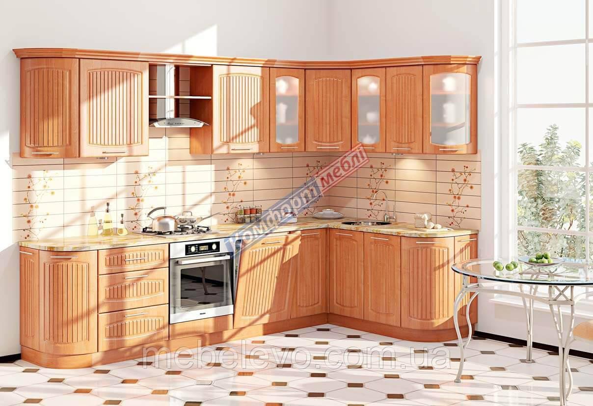 Комфорт Сопрано кухня КХ-285 ольха 3.1 х 1.7 м